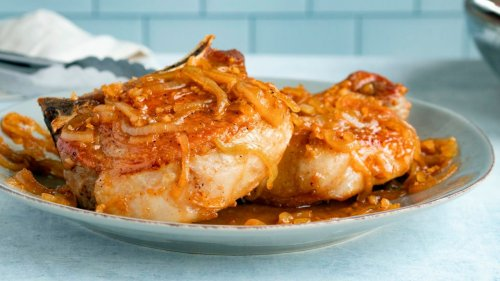 How to cook the perfect pork chop at home
