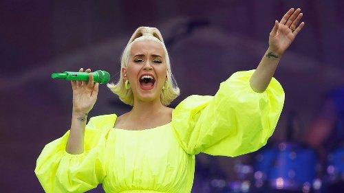 Katy Perry praises her nurses as 'angels'