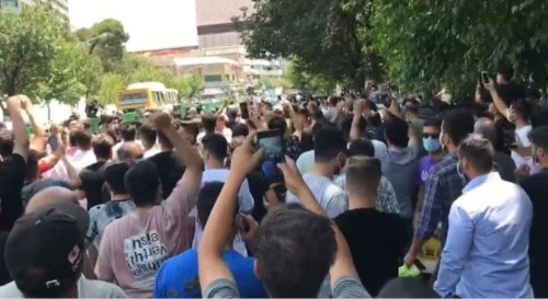 Iranians shout 'death to the dictator' as countrywide protests spread to Tehran