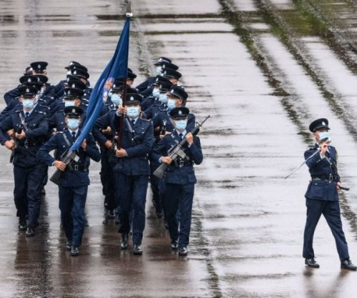 Police in Hong Kong Debut a New Goose Step March