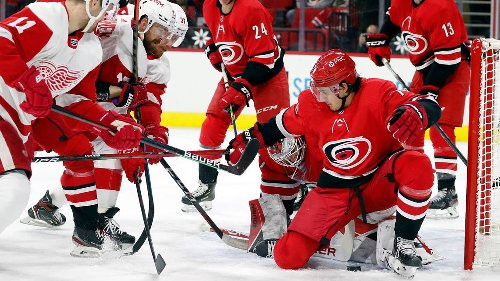 The Canes made few trades before deadline — then fell apart against last-place Detroit