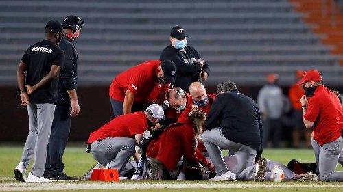 A spinal injury disrupted his football career. The comeback story of NCSU's Khalid Martin