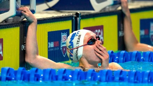 Here's how North Carolina's Claire Curzan did in her Olympic 100-meter butterfly semi