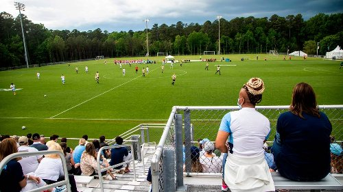 NC pulls off improbable feat of hosting two NCAA soccer tourneys ... at the same time