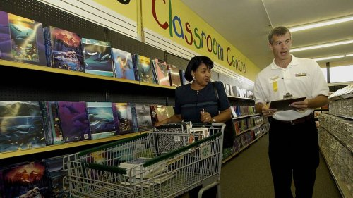 At this new 'store' in Cary, Wake teachers can shop for free supplies for classrooms