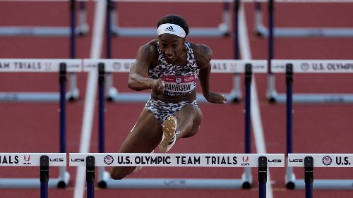 They ran track at rival NC high schools. They'll both be on Team USA at the Tokyo Olympics.