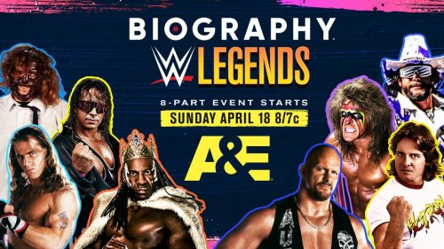What to Watch on Sunday: A&E continues its WWE Legends series with a Booker T doc