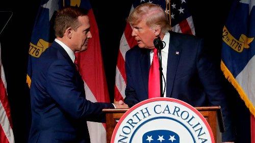 Donald Trump just threw NC's U.S. Senate race into chaos. Democrats should be delighted