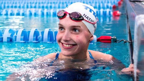 Here's how North Carolina swimmer Claire Curzan did in the 100 butterfly prelims