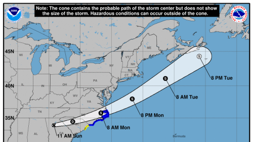 Horry and Georgetown counties under Tropical Storm Watch as Claudette nears