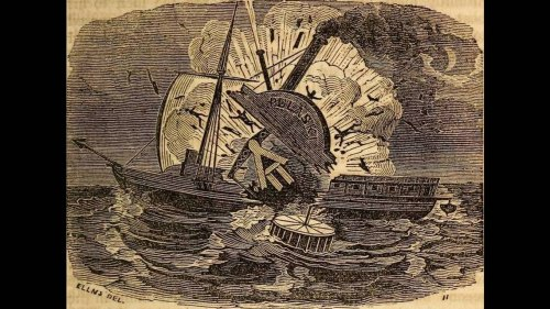 Sonar reveals harrowing detail about notorious 1838 ship explosion off North Carolina