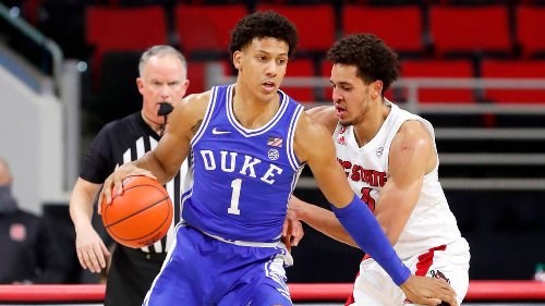 Jalen Johnson explains why he left Duke early, and why he thinks he'll thrive in the NBA