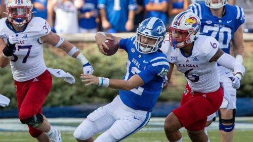 Holmberg ties Duke record leading Blue Devils to comeback win over Kansas