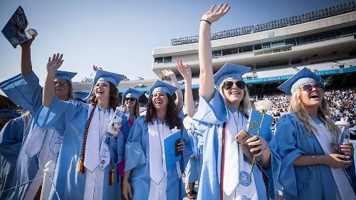 UNC's tumultuous COVID year ends with Fauci and Corbett virtually addressing grads