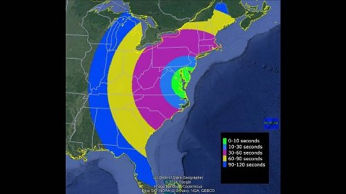Oddly colored 'spherical clouds' expected off East Coast on Saturday, NASA warns