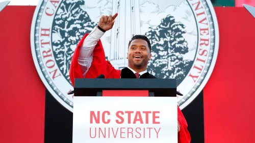 What did it take to get Russell Wilson back to NC State? As celebrities go, not much
