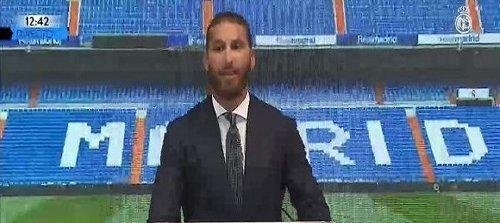 Ramos Bids Farewell to Real Madrid