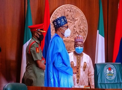 Buhari Promises to give Supports to Families of Fallen Military Personnel