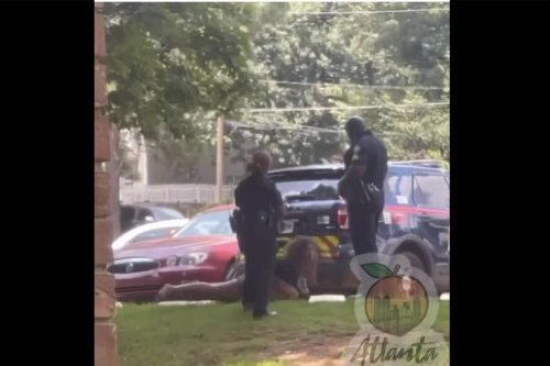 Video Shows Atlanta Cop Kicking Woman In The Face As Partner Stands And Watches