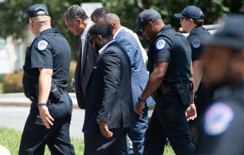 Capitol Police Arrest 79-Year-Old Jesse Jackson For Protesting Senate Republicans' Filibuster