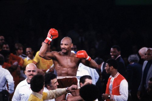 RIP Marvin Hagler: Iconic Photos Of Legendary Boxing Champ's 'Marvelous' Career