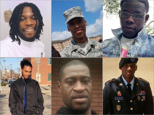 109 Black Men And Boys Killed By Police