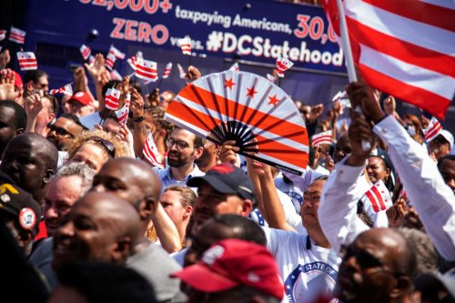 Civil Rights Leaders Applaud House Passage Of D.C. Statehood Bill