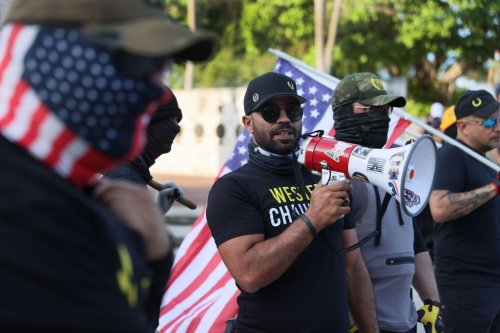 The Proud Boys Are So Broke That Their Leader Is Printing Black Lives Matter T-Shirts For Money