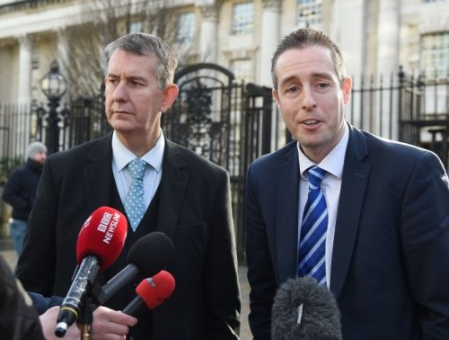 Edwin Poots is elected DUP leader in a repudiation of the party's MPs