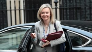 Liz Truss spends first morning as Foreign Secretary trying to locate Azkaban, Narnia and Mordor on a map