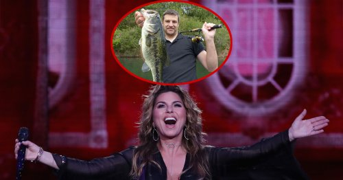 Shania Twain finally impressed after seeing huge fish in man's Facebook profile photo