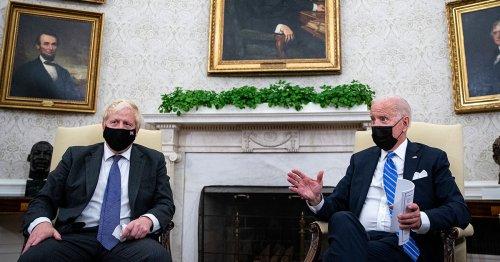 Biden meeting 'a success' as Boris didn't soil himself or say anything racist