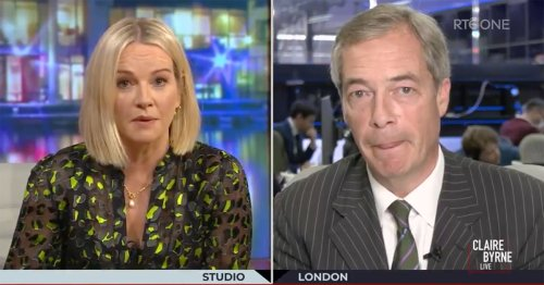 Pranksters trick Nigel Farage into finally being interviewed by someone with an IQ higher than a whelk