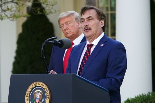 """Mike Lindell cites """"divine appointments,"""" prophet's words to explain affinity for Trump"""