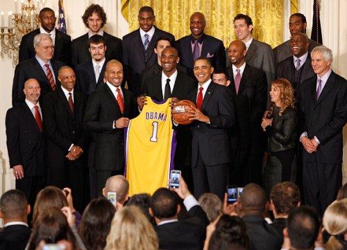 L.A. Lakers to skip White House championship celebration visit with Joe Biden