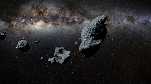 Three huge asteroids bigger than football fields are to zoom past Earth next week
