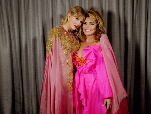 Taylor Swift pays homage to Shania Twain in video as fans guess Easter eggs