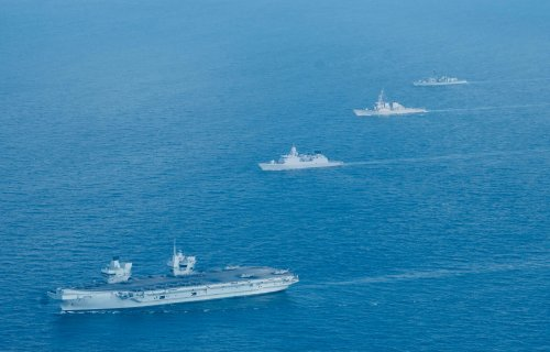 Germany Sends Warship to South China Sea in Latest Challenge to Beijing Territorial Claims