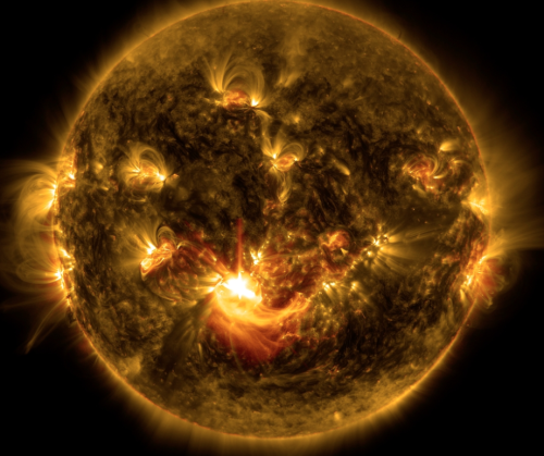 NASA time-lapse video of sun shows 10 years of solar activity in 1 hour