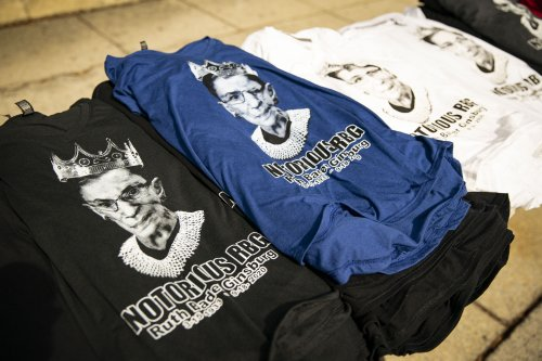 """Online stores see """"exponential"""" rise in Ruth Bader Ginsburg, Amy Coney Barrett merchandise after SCOTUS nomination"""