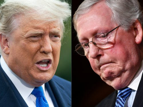 """Trump calls McConnell """"very bad for the Republican Party"""" as feud intensifies"""