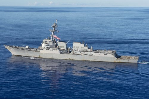 """China condemns """"vile"""" U.S. warship for disrupting navy exercises"""
