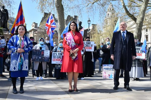 """China hits out at UK for calling Uyghur situation a genocide: """"disregard of facts and common sense"""""""
