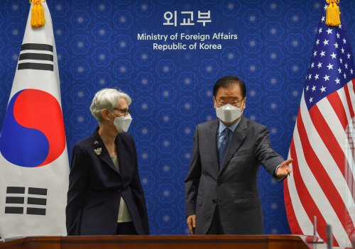 North Korea willing to talk to South Korea, U.S. if both drop some sanctions