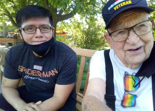 """""""I found love at 90 with a 31-year-old—after finally coming out"""""""