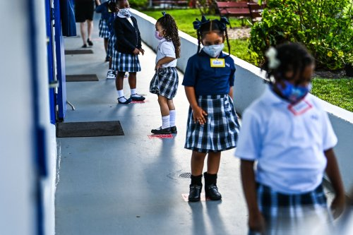 Florida warned not to withhold funds from school boards as punishment for mask mandates