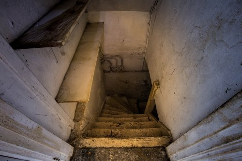Woman finds stairs inside her cupboard leading to secret basement