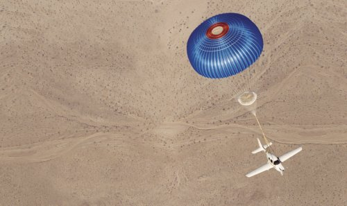 Plane Miraculously Floats to Ground Using Parachute After Midair Collision