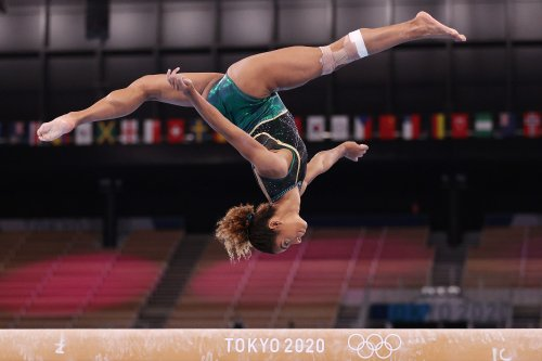 """""""I'm an Olympic gymnast. Women face """"twisties"""", periods and leotard fears"""""""