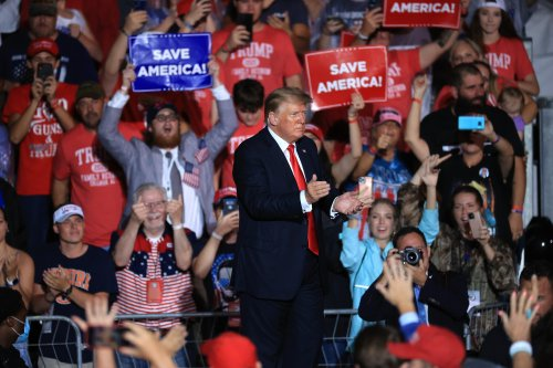 At Georgia rally, Trump falsely claims Arizona audit found he won in Maricopa County